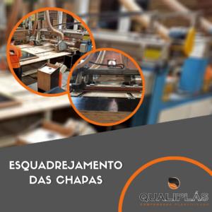 Processos de produção - Etapa 10 - Esquadrejamento